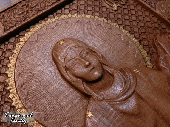 Protection of the Holy Virgin wood Wooden icon Wood carvings #woodenicon #woodcarvings #religiouswood #christmaswood #engravedwood #religiousgift #iconsofsaints #nativitywood #catholicswood #orthodoxwood #easterwood #icon #carvings #religious #christmas #engraved #gift #saints #nativity #catholics #orthodox #easter