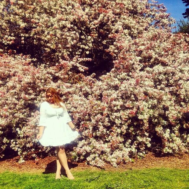 Dress from Just Jeans Shoes from Novo Floral headpiece from Sportsgirl