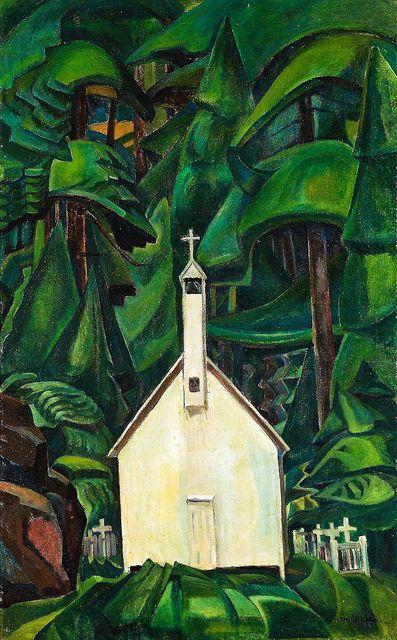 Emily Carr - Indian Church, 1929