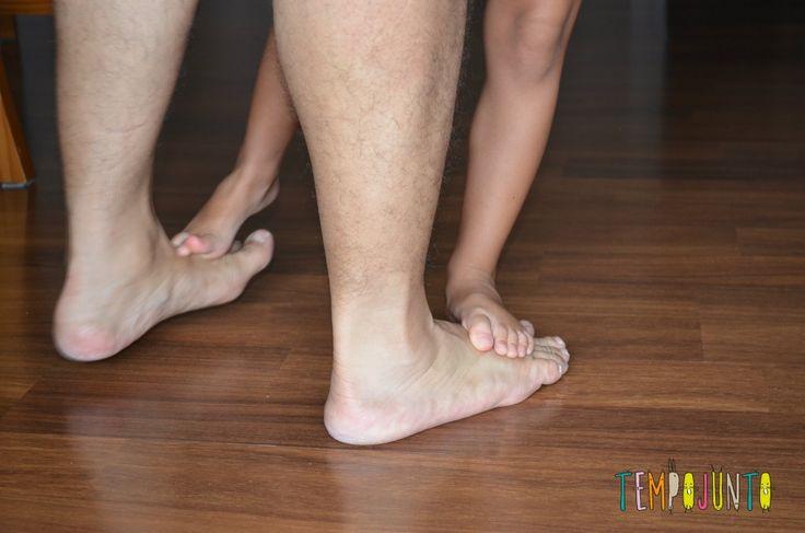 Andar sobre os pés