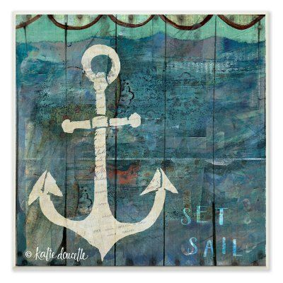 Stupell Industries Anchor Wall Plaque - CWP-132_WD_12X12