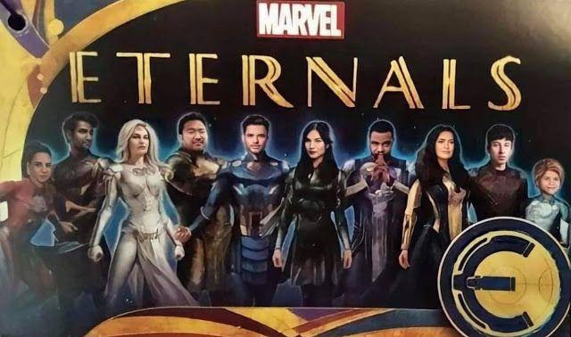 Primera Imagen Oficial De Eternals De Marvel En 2021 Nueva Pelicula De Marvel Personajes De Marvel Marvel