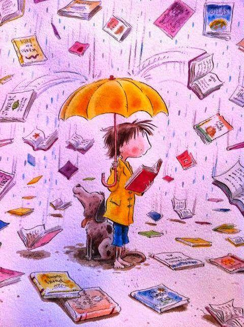 Quel bonheur de se laisser transporter par un livre sous une pluie de mille mots :)