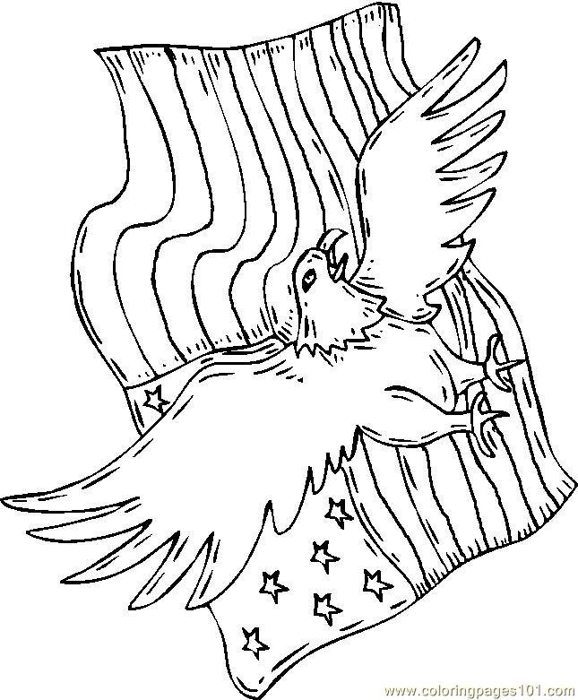 21 best Eagle Coloring Pages images on Pinterest  Eagles