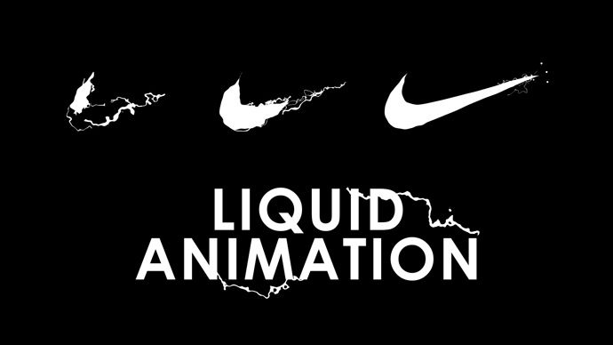 After Effects – Nike Logo Liquid Reveal Animation Tutorial