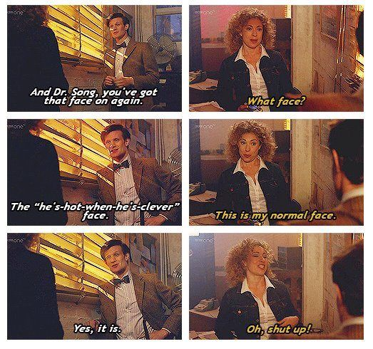 Brilliant Doctor/River moment!<3