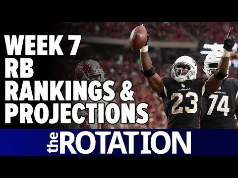 2017 Fantasy Football: Week 7 RB Rankings, Projections, and Stay-Aways | The Rotation
