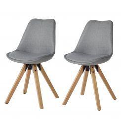 Gestoffeerde stoelen Aledas II (2-delige set)