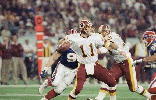 Super Bowl XXVI MVP Mark Rypien. | Repinned by @keilonegordon