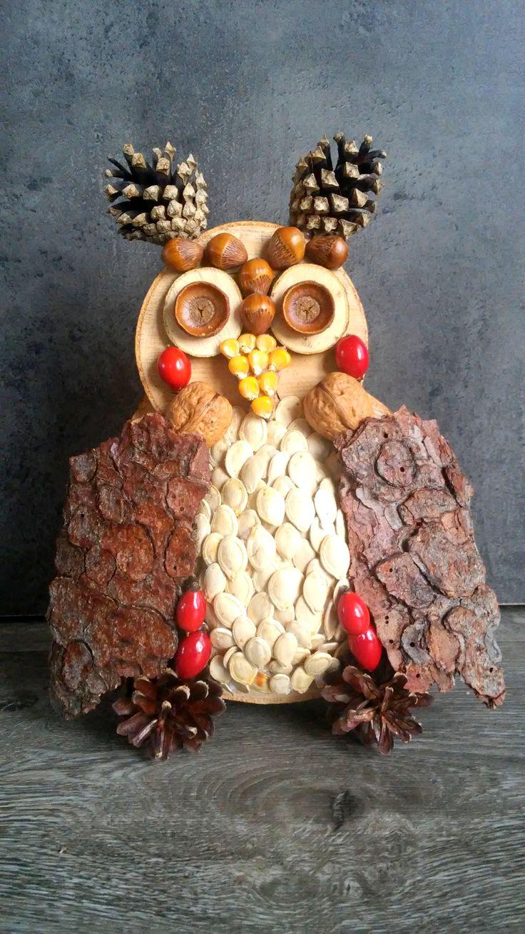 Owl DIY Podzimní sova