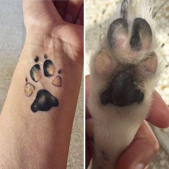les 25 meilleures id es de la cat gorie tatouages de chiens sur pinterest tatouage patte de. Black Bedroom Furniture Sets. Home Design Ideas
