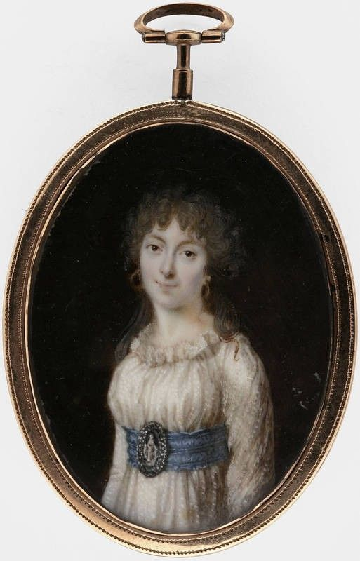 Portrait of a young lady, 1800 | Finnish National Gallery | Museo Finna