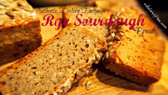 Learn how to make authentic Eastern European rye sourdough bread with sunflower seeds using a wild yeast starter. Get a taste of Lithuania!