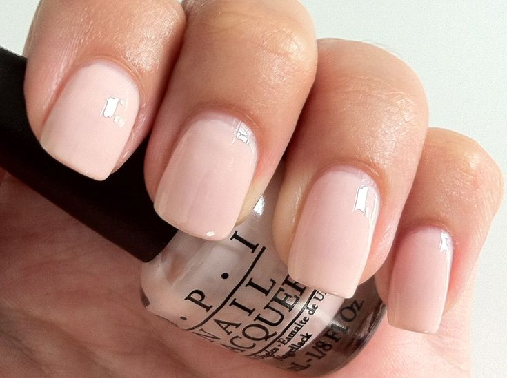 Other color I wear a lot - OPI Sweet Heart. Beautiful pink nude polish, but requires 3 coats. I have almost used it up!