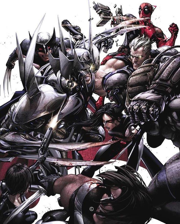 X-Force vs Stryfe by Clayton Crain   Go read a comicbook!! Download at nomoremutants-com.tumblr.com   #marvelcomics #Comics #marvel #comicbooks #avengers #captainamericacivilwar #xmen #xmenapocalypse  #captainamerica #ironman #thor #hulk #ironfist #spiderman #inhumans #civilwar #lukecage #infinitygauntlet #Logan #X23 #guardiansofthegalaxy #deadpool #wolverine #drstrange #infinitywar #thanos #gotg #RocketRaccoon #groot #nomoreinhumans   http://ift.tt/2f9evC3