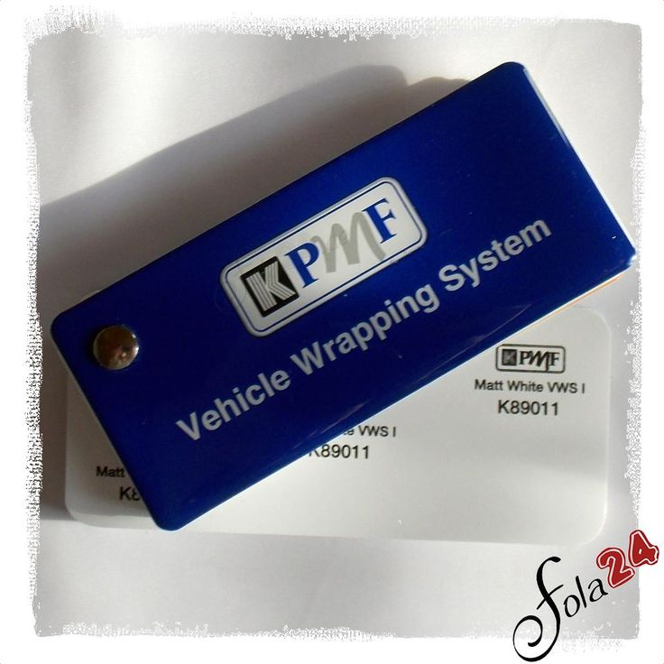 K75211 Weiß matt VWS IV - KPMF - Autofolien - Car Wrapping Folien