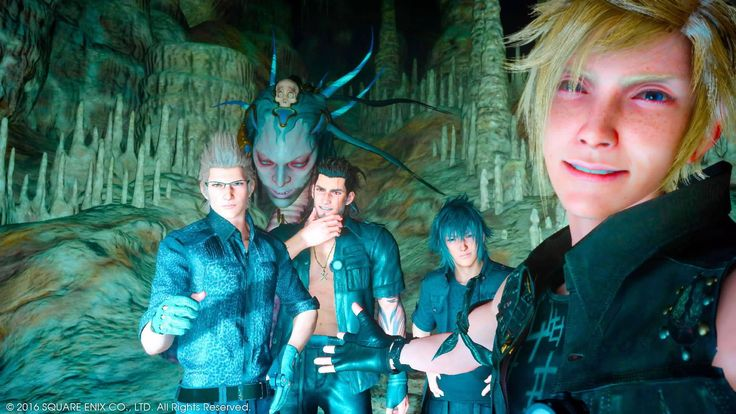 We're gonna have to shoot that one again snake demon was making a weird face...(Final Fantasy XV) http://ift.tt/2gNn5Up