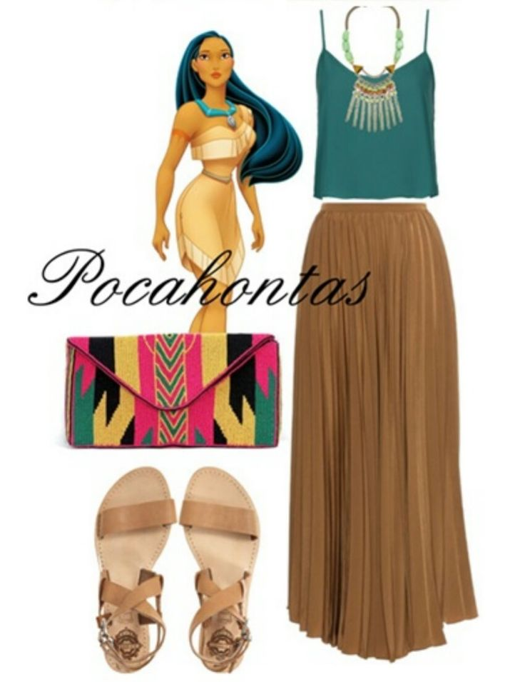 Pocahontas style outfit