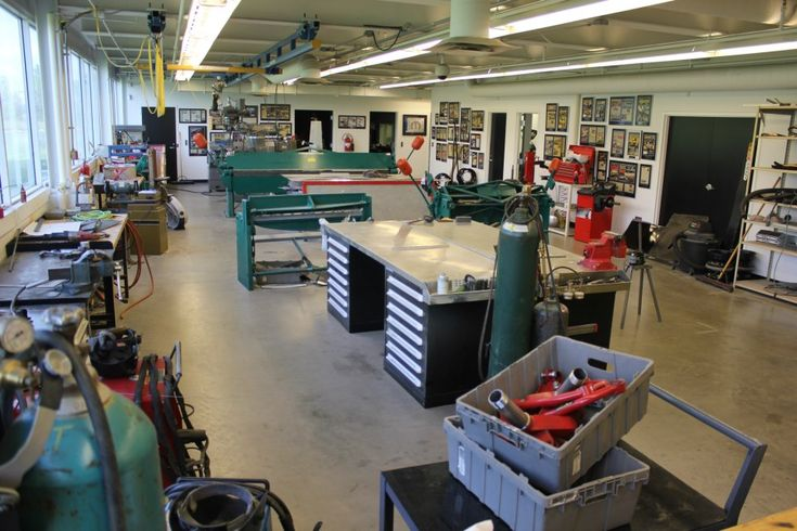 How Big Is Your Home Machine Shop