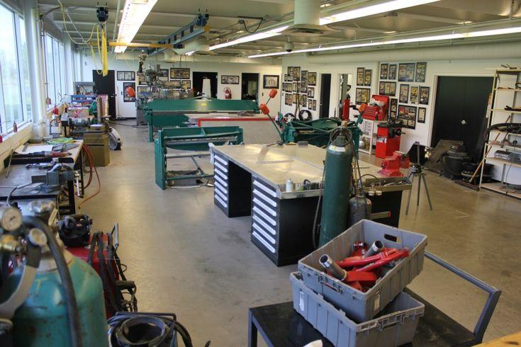 89 garage machine shop layout own metalwork build a for Garage auto fab ennery