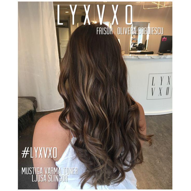 Brunette dream haircolor #lyxvxo #oliverabobuiescu