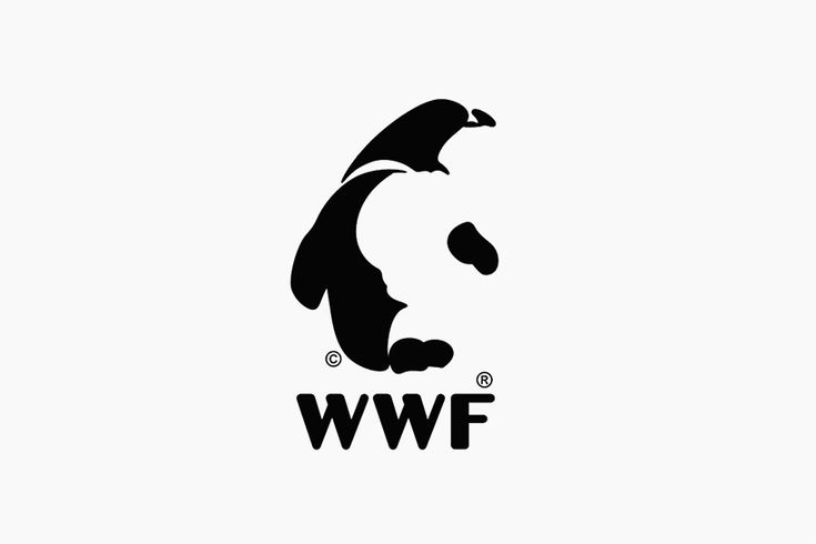 graphic designer turns WWF panda icon into other endangered species