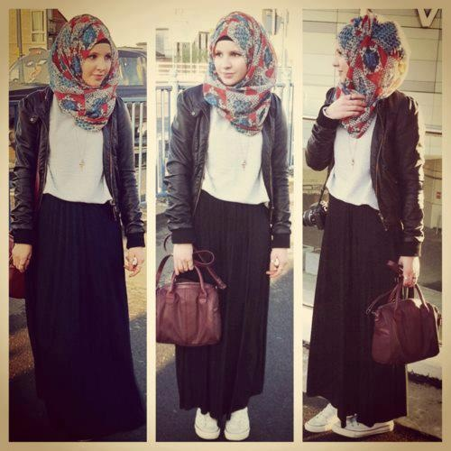 casual hijab... my kind of style :)