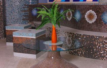 Агромат: керамическая, стеклянная мозаика. Панно из мозаики. Киев | Агромат. Керамическая плитка и сантехника.