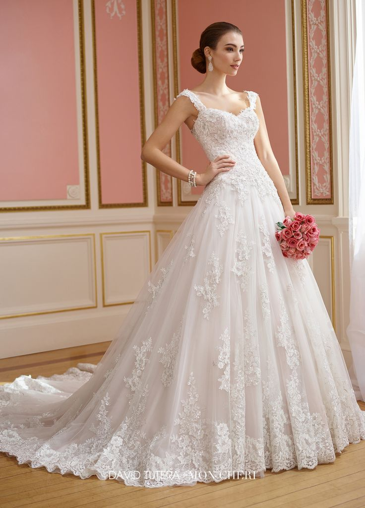 David Tutera - 217210 - Nellie - All Dressed Up, Bridal Gown