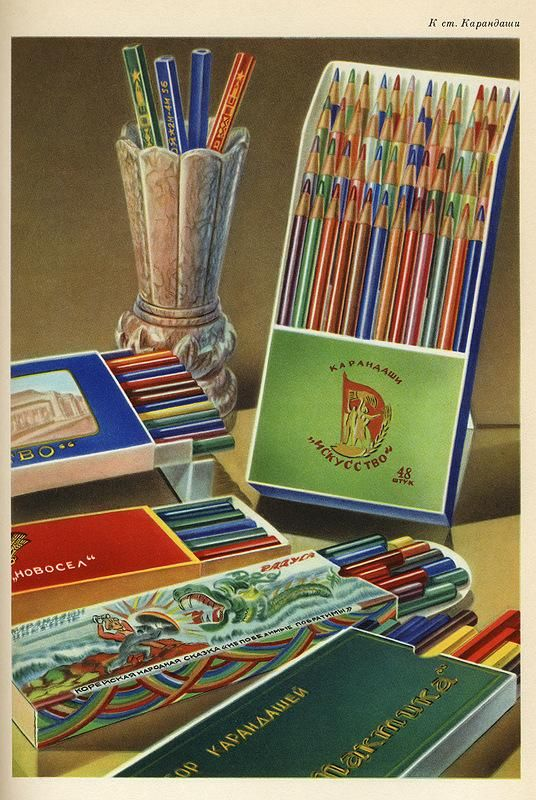 Page from an old Soviet catalogue.