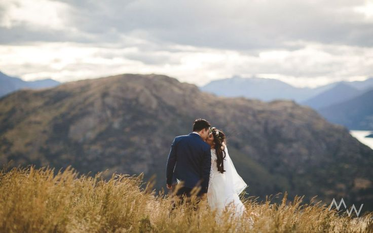 Queenstown Celebrant - Queenstown heli-wedding at Cecil Peak with Mountain Weddings