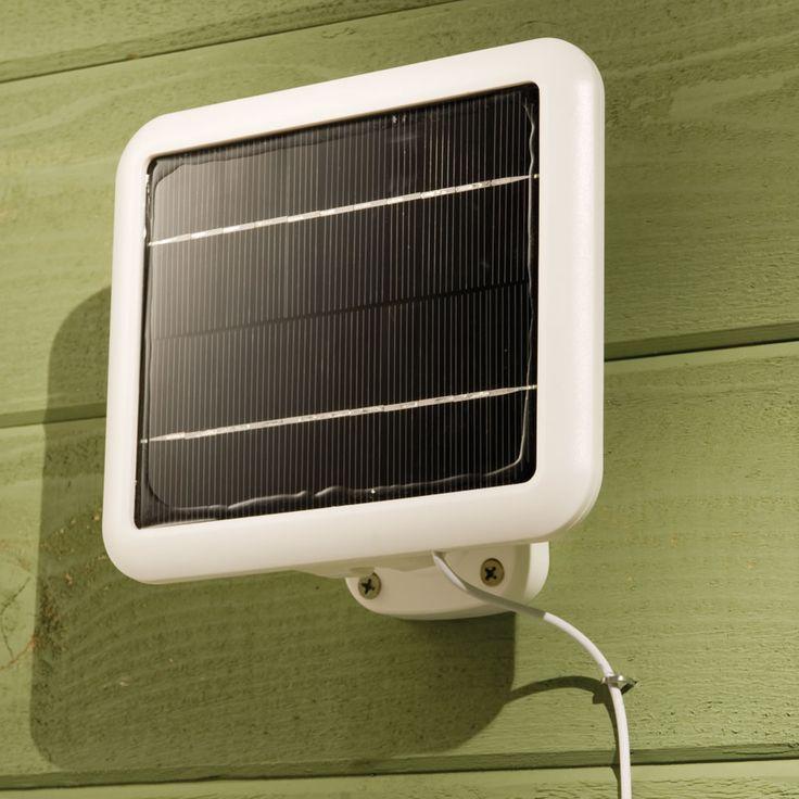 about solar powered security light on pinterest solar security light. Black Bedroom Furniture Sets. Home Design Ideas