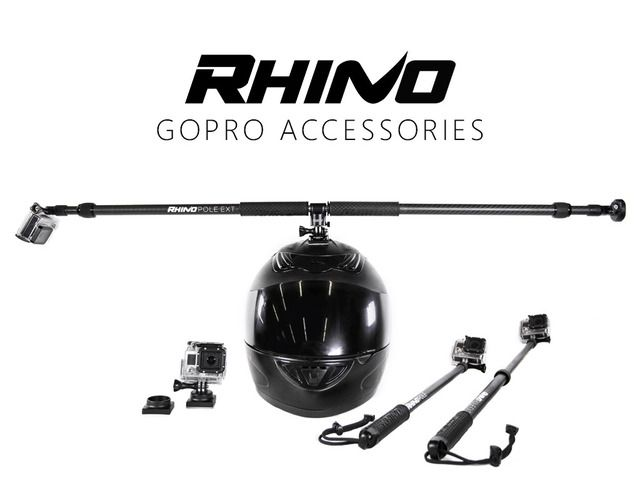 Capture incredible footage with unique GoPro camera mounts: 360 Helmet Swivel Mount and POV Poles.