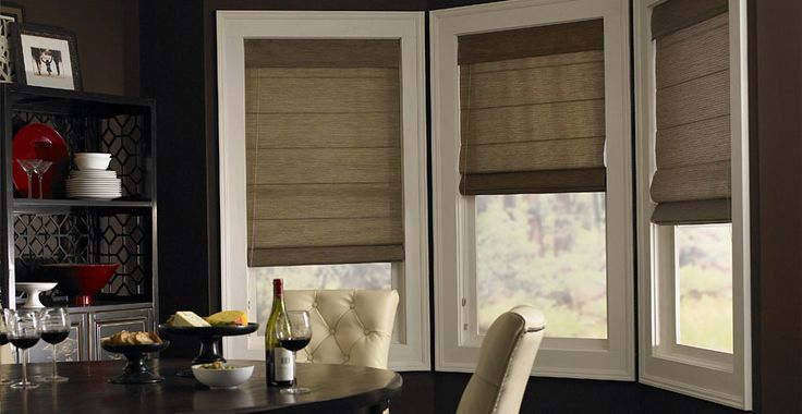 3 Day Blinds Roman Shades - In fabrics sheer to opaque, these timeless shades add style to any room.