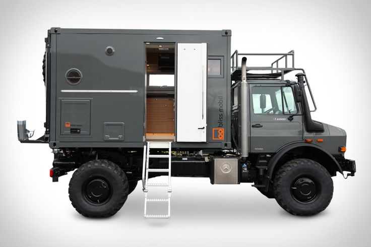 This rugged truck is an all-in-one home in a box - Curbedclockmenumore-arrow : It's like a shipping container on wheels