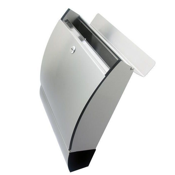 FI Stainless Steel Mailbox Modern Design Locking Mail Box Letterbox Postal Box