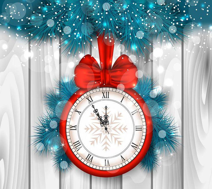 NYE Countdown clock wallpaper