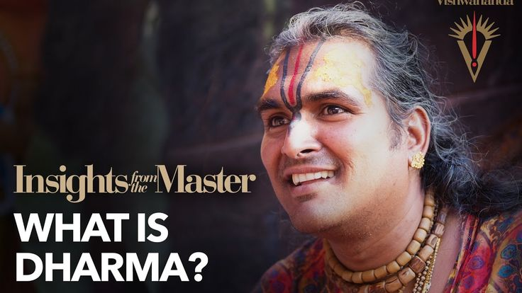 What is Dharma? - Insights from the Master - YouTube