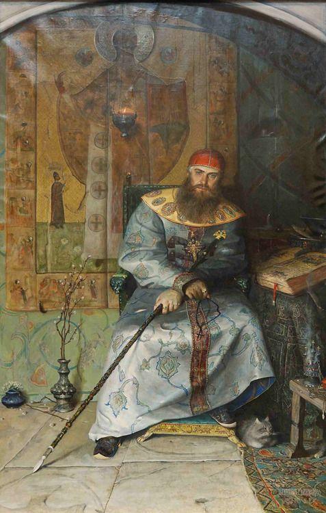 Aleksey Mikhailovich, Tsar of Russia by Pavel Ryzhenko