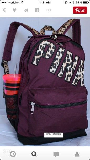 victoria secret backpack