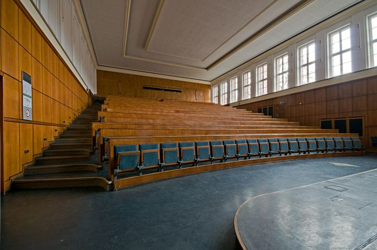 Peter Behrens - Industriepark Höchst, Behrensbau, Hörsal auditorium (2)