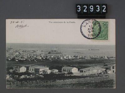 La Canée, Vue exterieure  Poststempel 29.4.1905  Dating:vor 29.4.1905  Photographer:Unbekannt  La Canée : Editeur: E. A. Cavaliero