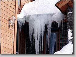 Roof Ice Melt Systems : Eliminate Roof Ice Dams