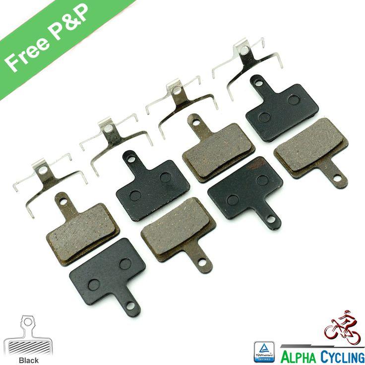 MTB Bicycle Disc Brake pads for SHIMANO M375 M395 M486 M485 M475 M416 M446 M515 M445 M525 Disc Brake, 4 Pairs/ORD, Black RESIN * Trouver des produits similaires en cliquant sur le bouton de VISITE