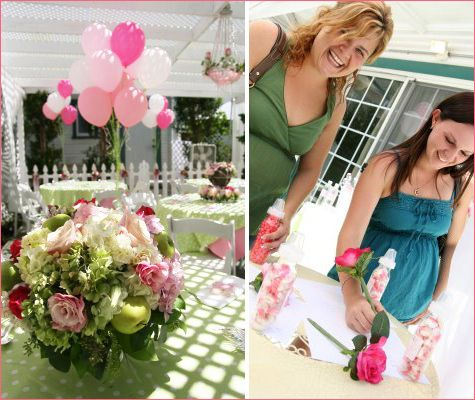 "Southern Baby Showers | ... in Pink with Southern Charm"" Baby Shower // Hostess with the Mostess"