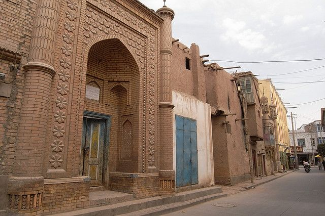 Kashgar, China — One of the last intact Silk Road cities in China