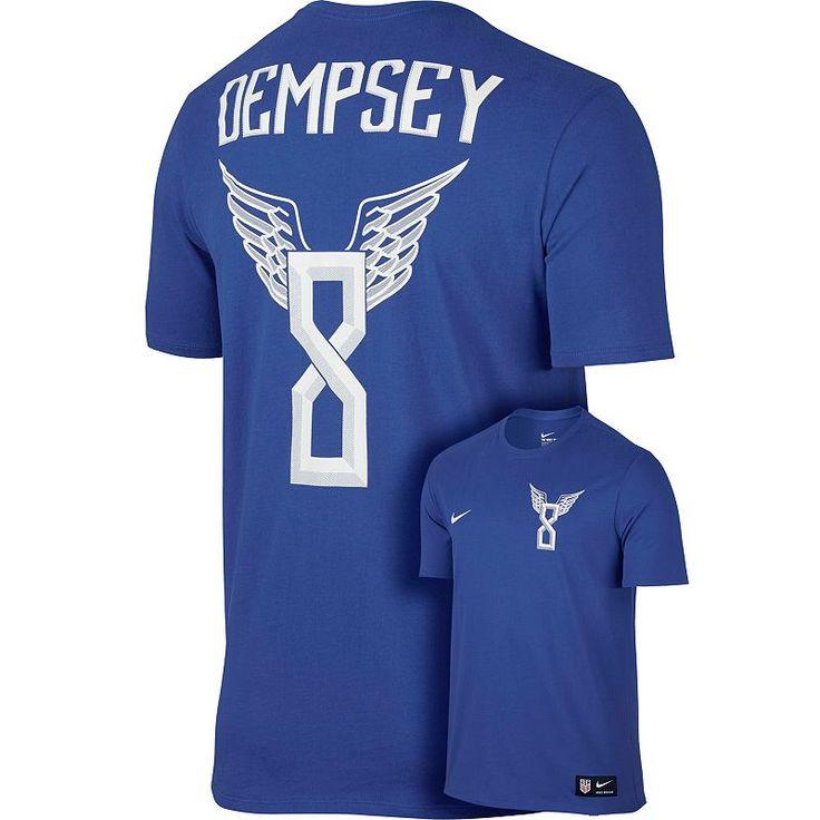 Men's Nike USA Clint Dempsey Hero Tee, Size:
