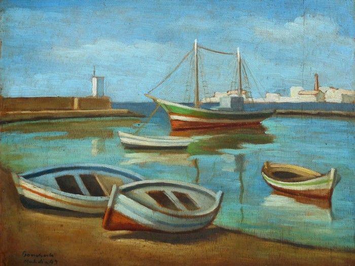 Pierre Boucherle Peintre Et Pionnier De L Ecole De Tunis Ideo Les Arts Peintre Comment Peindre