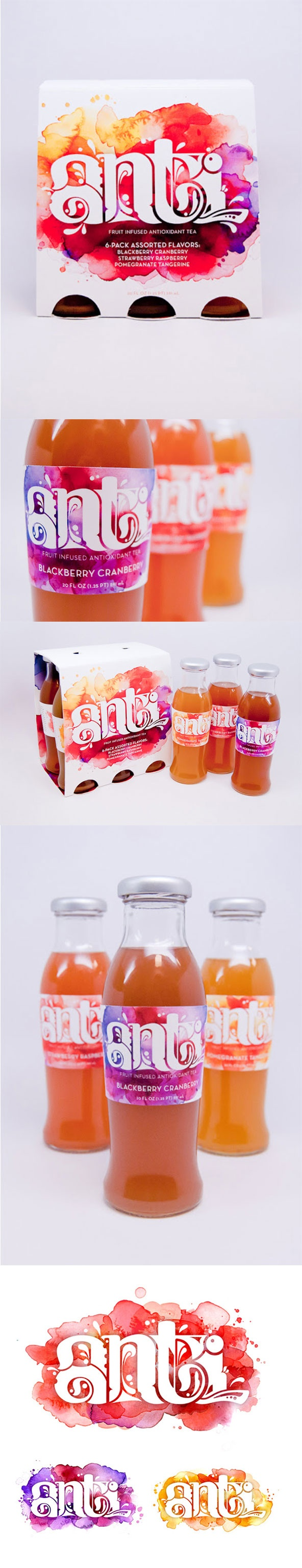 Packaging of the World: Creative Package Design Archive and Gallery: Anti (Student Work) --CB--