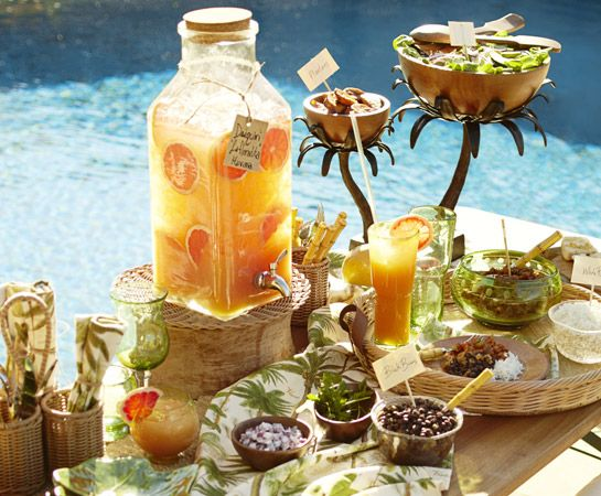10 Best Caribbean Centerpieces Images On Pinterest: 154 Best Images About CARIBBEAN PARTY IDEAS AND